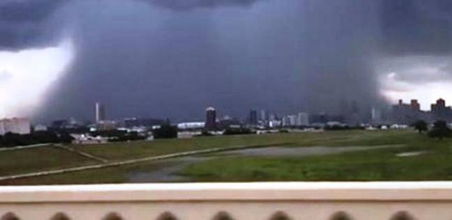 فيديو يرصد لحظة اجتياح الانفجار الجزئي لدالاس