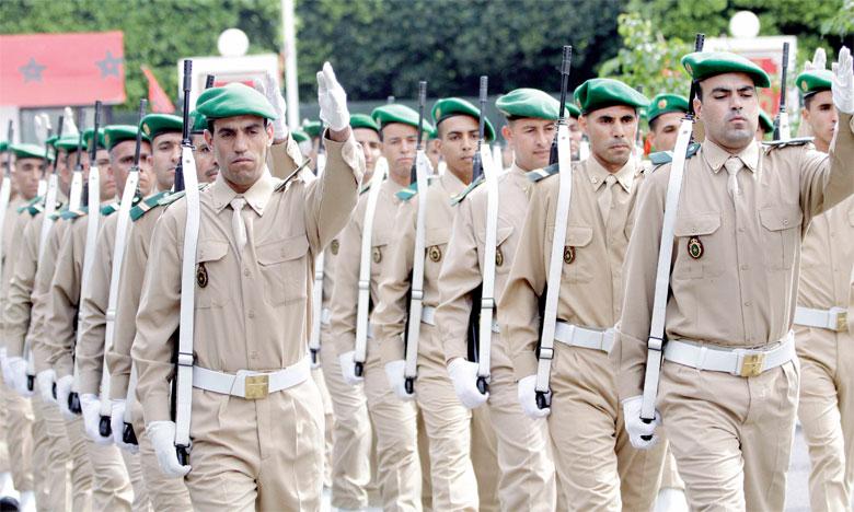 القوات المسلحة الملكية : إعلان الولوج لصفوف الحرس الملكي السابعة إعدادي