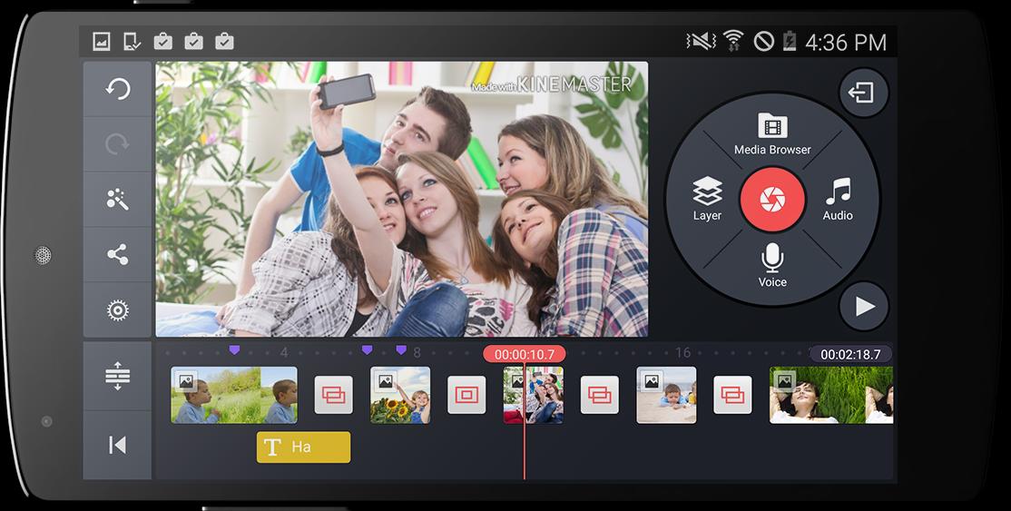 أحسن تطبيق باش تعمل مونتاج فيديو