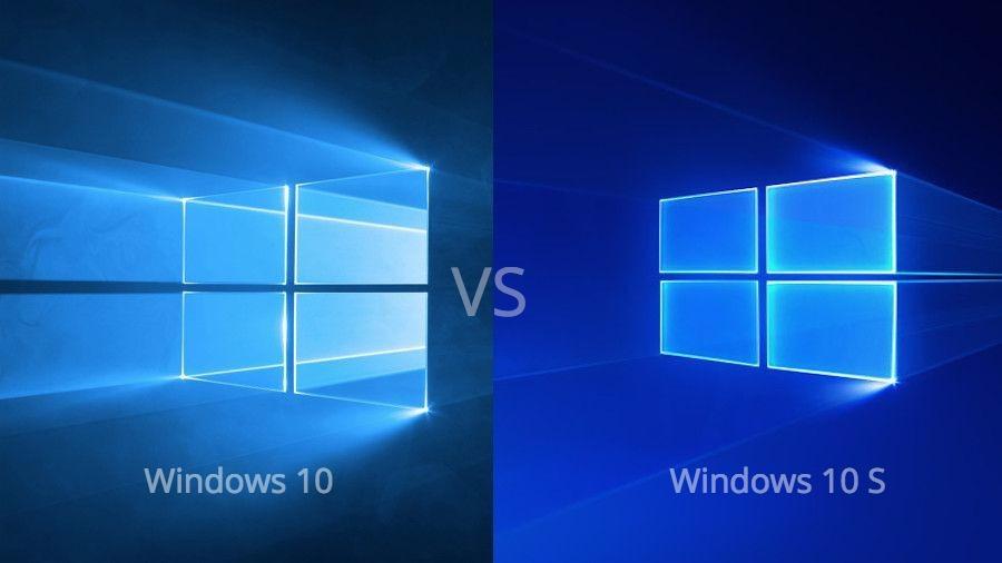 الفرق بين إصدار Windows 10 S وإصدارات ويندوز الأخرى