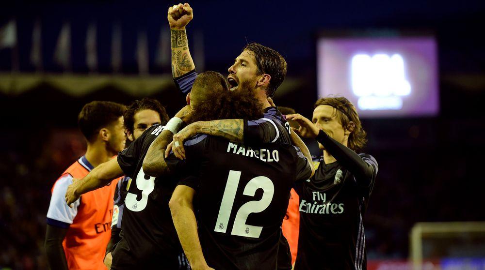 الدوري الإسباني ريال مدريد على بعد نقطة من اللقب