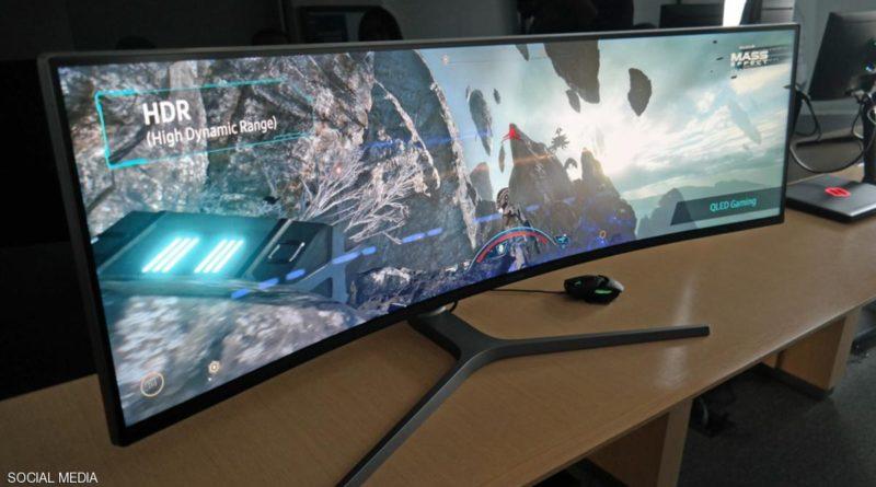 سامسونغ تطلق شاشة كمبيوتر بمواصفات غير مسبوقة
